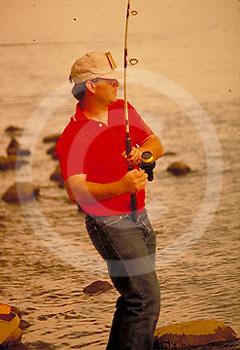 Outdoor recreation, Fishing, Bass, Susquehanna River, Lancaster Co., PA