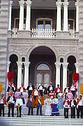 Royal Court, Aloha Week, Iolani Palace, Oahu, Hawaii<br />