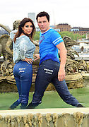 27.JUNE.2012. LONDON<br /> <br /> SHOBNA GULATI AND JOHN BARROWMAN ATTEND A PHOTOCALL FOR REAR OF THE YEAR FOR WIZARD JEANS.<br /> <br /> BYLINE: JO ALVAREZ/EDBIMAGEARCHIVE.CO.UK<br /> <br /> *THIS IMAGE IS STRICTLY FOR UK NEWSPAPERS AND MAGAZINES ONLY*<br /> *FOR WORLD WIDE SALES AND WEB USE PLEASE CONTACT EDBIMAGEARCHIVE - 0208 954 5968*
