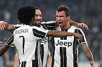 Torino - 26.10.2016 - Serie A 9a Giornata - Juventus-Sampdoria - Nella foto: Gonzalo Higuain, Mario Mandzukic e Juan Cuadrado  - Juventus