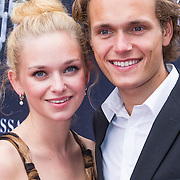 NLD/Amsterdam/20130708- Premiere film The Bling Ring, Pip Pellens en partner