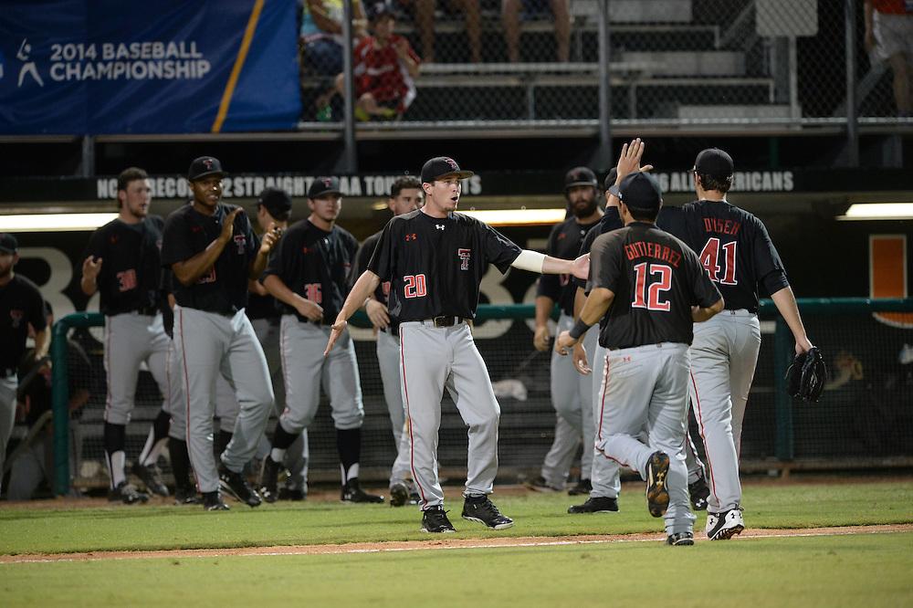 2014 Texas Tech Baseball vs Miami<br /> Coral Gables Regional