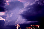 Lightning storm, Front Range Colorado
