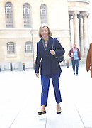 Liz Truss arriving for the Andrew Marr Show arrivals<br /> BBC, Broadcasting House, London, Great Britain <br /> 19th February 2017 <br /> <br /> <br /> <br /> Elizabeth Truss<br /> Secretary of State for Justice and The Lord Chancellor <br /> <br /> Photograph by Elliott Franks <br /> Image licensed to Elliott Franks Photography Services