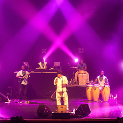 London, UK - 13 February 2013: Salif Keita performs live at Southbank Centre in London.