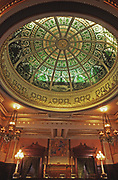 PA Supreme Court architecture and interior dome.