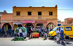 Fruit and vegetable market in Tagounite, Morocco<br /> <br /> (c) Andrew Wilson | Edinburgh Elite media