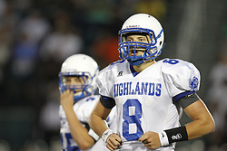 Trinity High School in Louisville hosted Highlands High School in a pre-season scrimmageFriday, Aug. 12, 2011. Photo by Jonathan Palmer