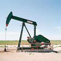 West Texas oil rig.