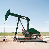 West Texas oil rig.