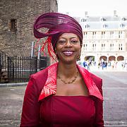 NLD/Den Haag/20130917 -  Prinsjesdag 2013, Joyce Sylvester , Burgemeester van Naarden