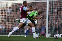 Football - The Championship - West Ham United vs Brighton and Hove Albion<br /> John Carew of West Ham fouls Brighton's Adam El-Abd