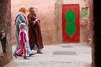 women in Marrakech