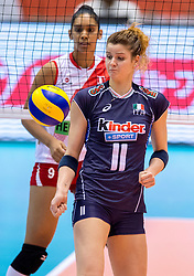 18-05-2016 JAP: OKT Peru - Italie, Tokio<br /> Italië verslaat Peru met 3-0 / Cristina Chirichella #11 of Italie