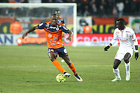 BRYAN DABO - 07.02.2015 - Montpellier / Lille - 24eme journee de Ligue 1<br /> Photo : Andre Delon / Icon Sport