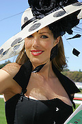 Derby Day at Royal Randwick Racecourse, Sydney. .Tara Moss