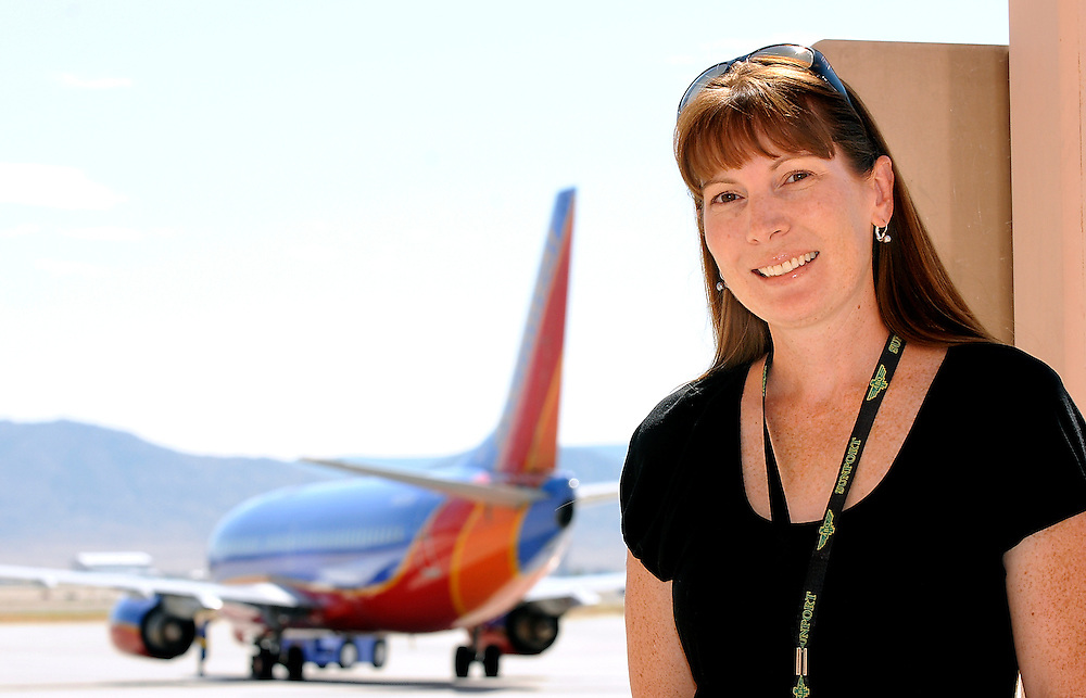 jt082511d/a sec/jim thompson/08-25-11/  Jessica Dickman is the operations Officer for the Albuquerque Sunport talks about what she was doing on 9-11-01.  Thursday, Aug. 25. 2011. (Jim Thompson/Albuquerque Journal)