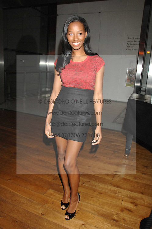Singer JAMELIA at the Orion Authors Party held at the Royal Opera House, Covent Garden, London on 11th February 2008.<br />
