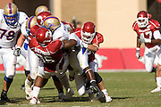 University of Arkansas Razorback Football Team during the 2008-2009 season in Fayetteville, Arkansas....©Wesley Hitt.All Rights Reserved.501-258-0920.