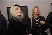 VICTORIA GRANT; KATIE MOGFORD, Antony Micallef private at Lazarides Rathbone, 11 RATHBONE PLACE, London. 12 February 2015