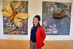 Turner Prize nominee Monster Chetwynd at Gallery of Modern Art, Edinburgh 18 October 2018