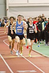 Boston University Terrier Invitational Indoor Track Meet: Julian Matthews, David McCarthy, Eric Jenkins, Mens Elite Mile