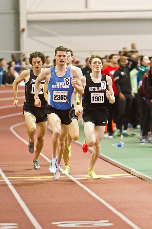 Boston University Terrier Invitational Indoor Track Meet: Julian Matthews, David McCarthy, Eric Jenkins, Mens Elite Mile