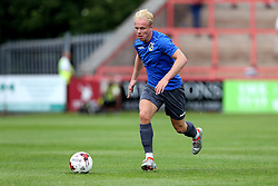 Ryan Broom of Bristol Rovers runs with the ball during the preseason friendly against Exeter City - Mandatory by-line: Robbie Stephenson/JMP - 16/07/2016 - FOOTBALL - St James Park - Exeter, England - Exeter City v Bristol Rovers - Pre-season friendly