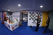 Delhi Dynamos FC  hospitality lounge during match 43 of the Hero Indian Super League between Delhi Dynamos FC and Kerala Blasters FC  held at the Jawaharlal Nehru Stadium, Delhi, India on the 10th January 2018<br /> <br /> Photo by: Arjun Singh  / ISL / SPORTZPICS