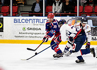 2019-10-13   Tyringe, Sweden: Tyringe SoSs (39) Simon Ericsson during the game between Tyringe SoSs and Halmstad Hammers at Tyrs Hov (Photo by: Jonathan Persson   Swe Press Photo)<br /> <br /> Keywords: Tyrs Hov, Tyringe, Hockeyettan, Hockeyettansödra, Tyringe SoSs, Halmstad Hammers, (Match code th191013)