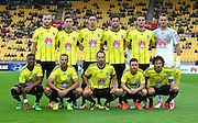 Phoenix team photo during the Round 22 A-League football match - Wellington Phoenix V Adelaide United at Westpac Stadium, Wellington. Saturday 5th March 2016. Copyright Photo.: Grant Down / www.photosport.nz