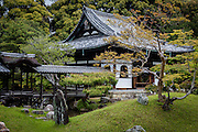 A scene from the garden of Kodai-ji buddhist temple, in Kyoto.