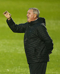 August 9, 2017 - Colchester, Greater London, United Kingdom - Aston Villa manager Steve Bruce .during Carabao Cup First Round match between Colchester United and Aston Villa at Colchester Community Stadium, Colchester,  England on 09 August 2017. (Credit Image: © Kieran Galvin/NurPhoto via ZUMA Press)