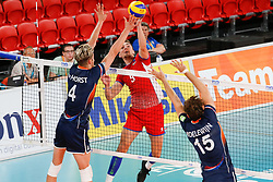 20170617 NED: FIVB Volleybal World League 2017 The Netherlands - Slovakia: Den Haag <br />Peter Mlynarcik (9) of Slovakia <br />©2017-FotoHoogendoorn.nl / Pim Waslander