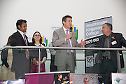 Sebastian Coe Visits Employment Fair