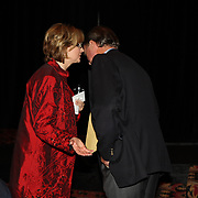 Jo Whitehouse and Mark Phillips at the 2007 USEA Convention and awards dinner in Colorado Springs, CO, USA
