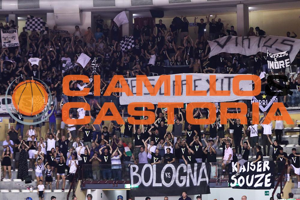 Tifosi Virtus, ALMA TRIESTE vs VIRTUS BOLOGNA LNP playoff Finale gara 3, pala Trieste, Trieste 19 giugno 2017