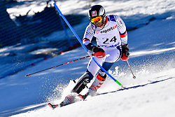 BROISIN Jordan, LW4, FRA, Slalom at the WPAS_2019 Alpine Skiing World Cup, La Molina, Spain