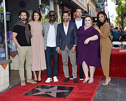 Donelle Dadigan, Mandy Moore and Rana Ghadban at the Mandy Moore Star Ceremony held on the Hollywood Walk of Fame on March 25, 2019 in Hollywood, Ca. © Janet Gough / AFF-USA.COM. 25 Mar 2019 Pictured: Milo Ventimiglia, Mandy Moore, Sterling K. Brown, Jon Huertas, Justin Hartley, Chrissy Metz and Susan Kelechi Watson. Photo credit: Janet Gough / AFF-USA.COM / MEGA TheMegaAgency.com +1 888 505 6342