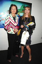 Left to right, RACHEL BILLINGTON and CLEMENTINE FRASER at a pre show reception to celebrate the 50th anniversary of the play 'The Birthday Party' held at the Lyric Theatre, Kings Street, Hammersmith, London on 19th May 2008.<br />