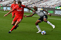 Football - 2020 /2021 EFL Championship - Swansea City vs Birmingham City <br />      <br /> <br /> in a match played without fans at the Liberty Stadium<br /> <br /> COLORSPORT/WINSTON BYNORTH