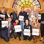 NLD/Heemstede/20151116 - Boekpresentatie De Zin van het Leven, alle gasten