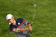 Jordan Spieth (Usa) during the practice round of Ryder Cup 2018, at Golf National in Saint-Quentin-en-Yvelines, France, September 27, 2018 - Photo Philippe Millereau / KMSP / ProSportsImages / DPPI