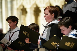 Lincoln Cathedral choir performing at the Cathedral's Christmas Eve Carol Service.<br /> <br /> Picture: Chris Vaughan Photography<br /> Date: December 24, 2016