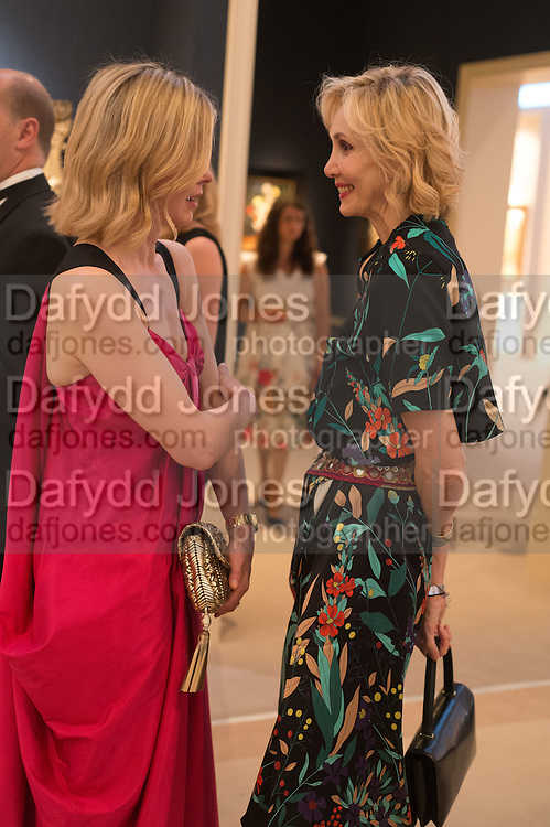LADY HELEN TAYLOR; ALLEGRA HICKS, The Neo Romantic Art Gala in aid of the NSPCC. Masterpiece. Chelsea. London.  30 June 2015