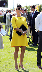 Zara Phillips at Ladies Day at Glorious Goodwood in the UK  Thursday, 1st August 2013<br />