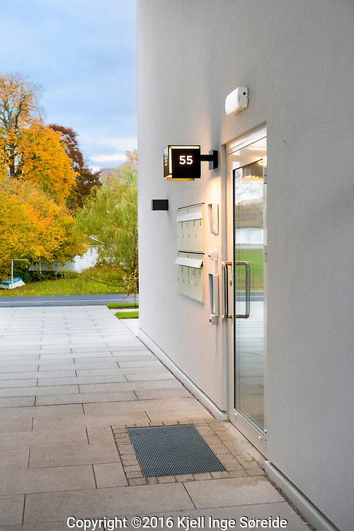 25 October 2016 Kj&oslash;ita, Kristiansand, Norge, <br /> <br /> Belysning p&aring; Kj&oslash;ita Secret Garden og Kanalbygget<br /> <br /> Foto: Kjell Inge S&oslash;reide