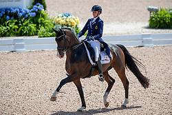 Roos Laurence, BEL, Fil Rouge<br /> World Equestrian Games - Tryon 2018<br /> © Hippo Foto - Dirk Caremans<br /> 13/09/18