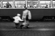 Zagreb, 31/12/1992: Trg Bana Jelacica<br /> &copy;Andrea Sabbadini