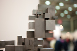 Antony Gormley , TBC 2008 , mild steel blocks, Galerie Thaddeus Ropac , Salzburg Paris